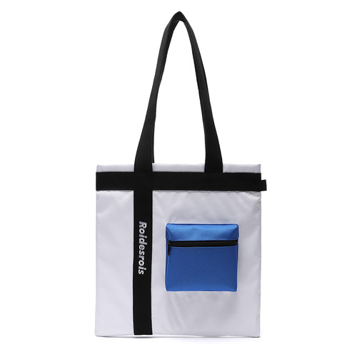 3D POCKET SHOULDER BAG (WHITE)