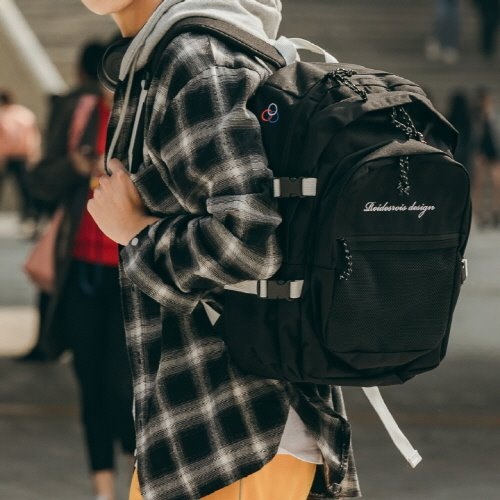 [FLEX : SUB 가방 추가 증정] OH OOPS BACKPACK (BLACK)