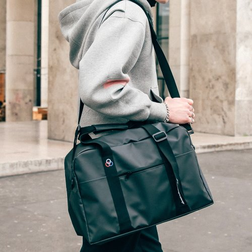 BAAM BOSTON BAG (JET BLACK)
