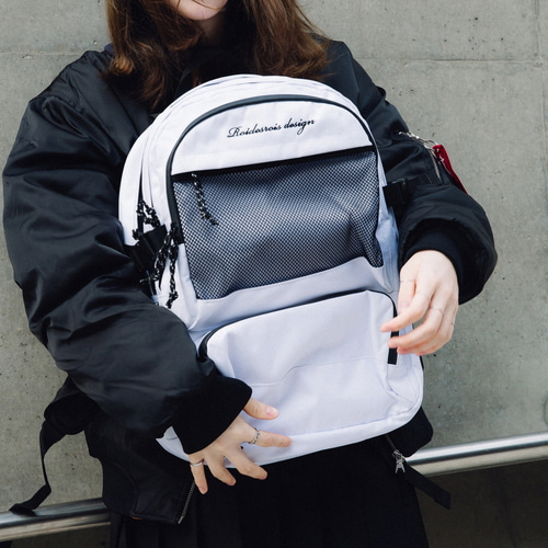 OMG BACKPACK (WHITE)