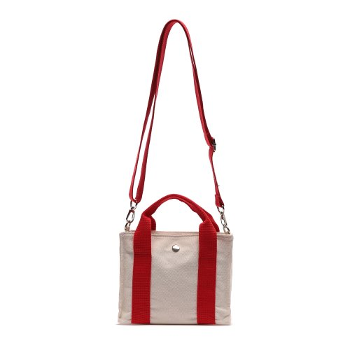 HUG MINI CROSS BAG (RED/IVORY)