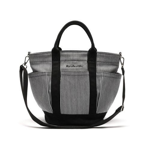 HOHUM TOTE CROSS BAG (STRIPE)