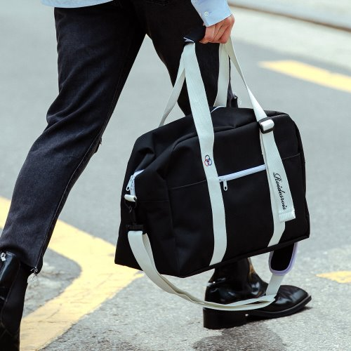 BAAM BOSTON BAG (BLACK)