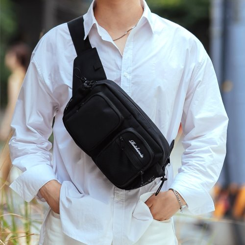 HUSH WAIST BAG (BLACK)