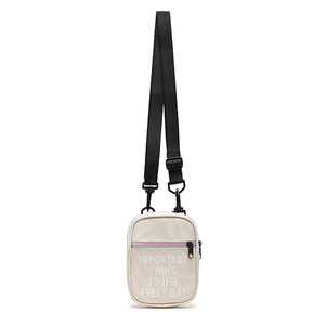 YOO HOO MINI CROSS BAG (BEIGE)