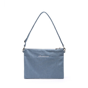 TICK TICK MINI CROSS BAG (DENIM)