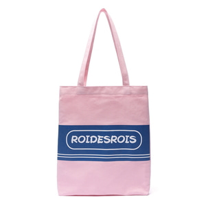 TWO TONE LOGO ECO BAG (PINK)