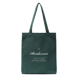 BASIC LOGO ECO BAG (GREEN)