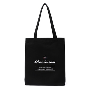 BASIC LOGO ECO BAG (BLACK)