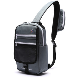 POCKET COVER SLING BAG (D.GRAY)