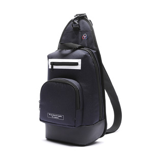 ROUNDING POCKET SLING BAG (NAVY)