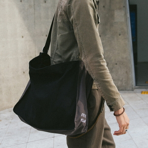 MURMUR SHOULDER BAG (BLACK/GRAY)