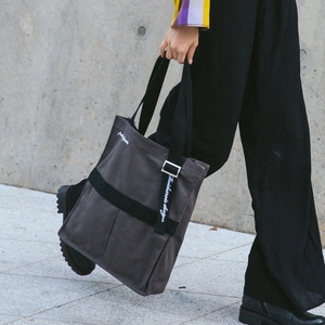 AH CHOO SHOULDER BAG (D.GRAY)