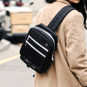 POCKET COVER SLING BAG (BLACK)