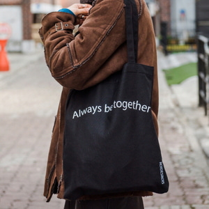 TOGETHER ECO BAG (BLACK)