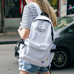MUGUNGHWA BACKPACK (WHITE)