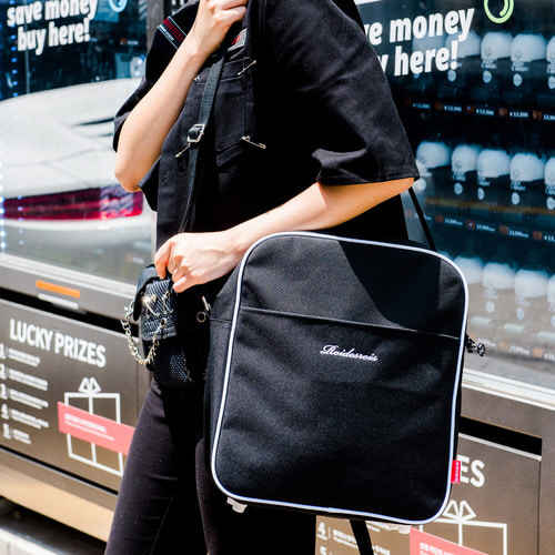 SUB AIR LINE CROSS BAG (BLACK)