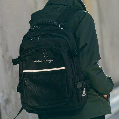 BIG OH OOPS BACKPACK (BLACK)