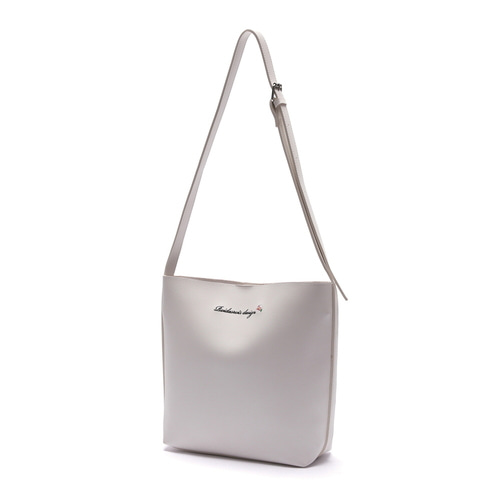 MUGUNGHWA CROSS BAG (WHITE)
