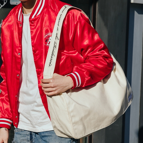 CROSS POINT MAIL BAG (IVORY)