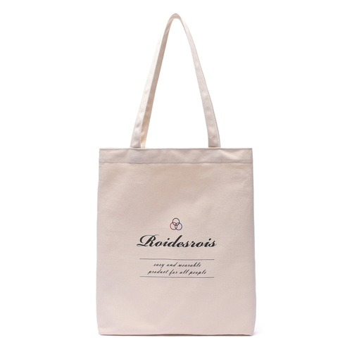 BASIC LOGO ECO BAG (IVORY)