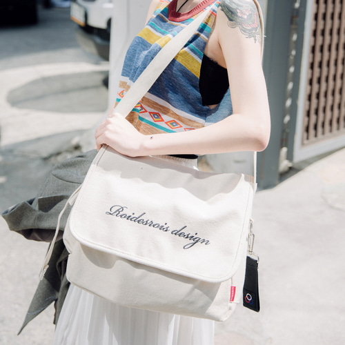 HOW NICE MAIL BAG (IVORY)