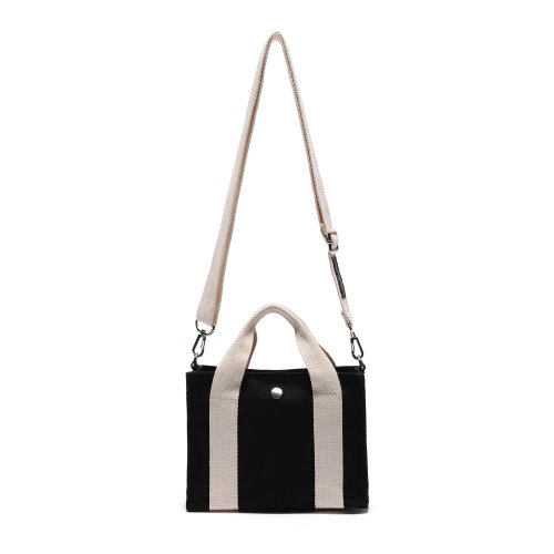 HUG MINI CROSS BAG (IVORY/BLACK)