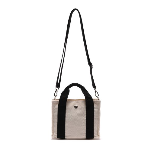 HUG MINI CROSS BAG (BLACK/IVORY)