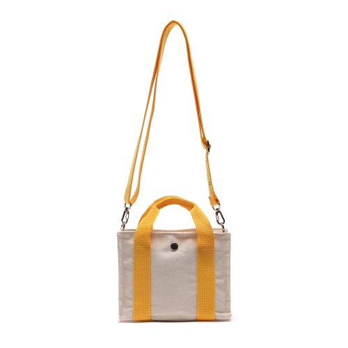 HUG MINI CROSS BAG (MUSTARD/IVORY)