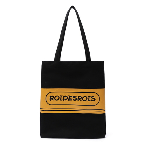 TWO TONE LOGO ECO BAG (BLACK)