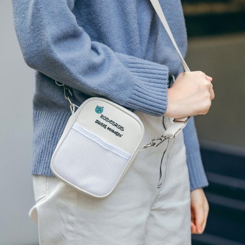 [로아드로아X스위트몬스터] SWEET MONSTER MINI CROSS BAG (IVORY)