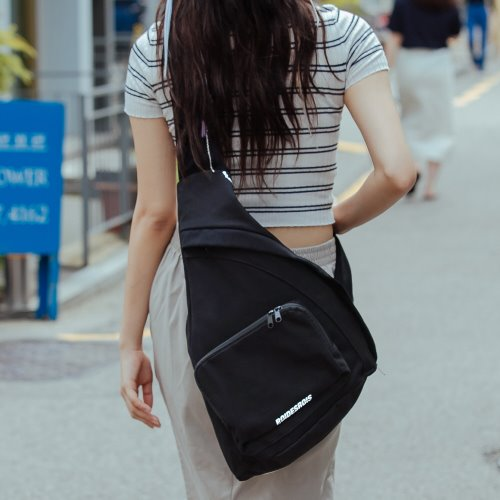 [단독판매]JEEPERS SLING BAG (BLACK)