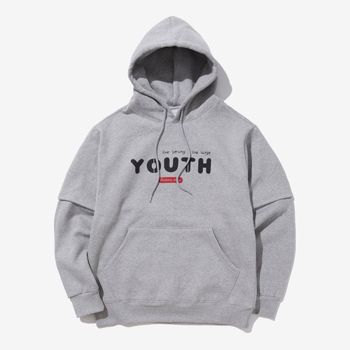 LIVE YOUTH HOOD (GRAY)