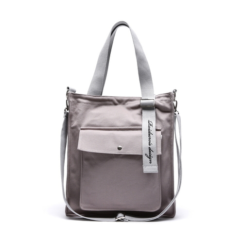 NEW AH CHOO SHOULDER BAG (GRAY)