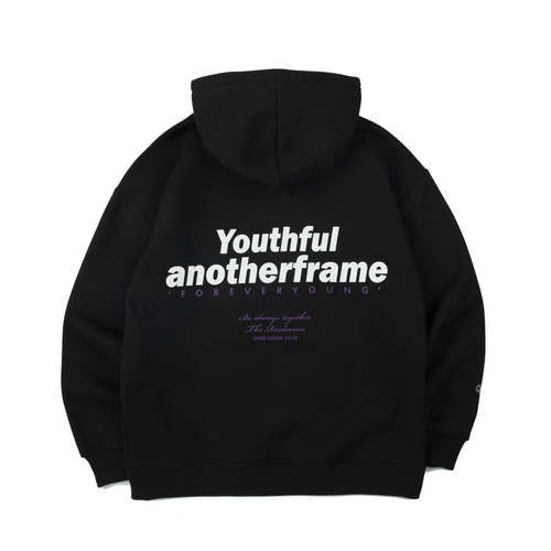 FOREVER YOUNG HOODIE (BLACK)