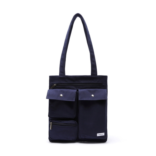 CL MARK ECO BAG (NAVY)