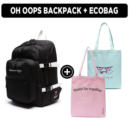 [ ★GOOD BUY 2019 ] OH OOPS BACKPACK + ECOBAG