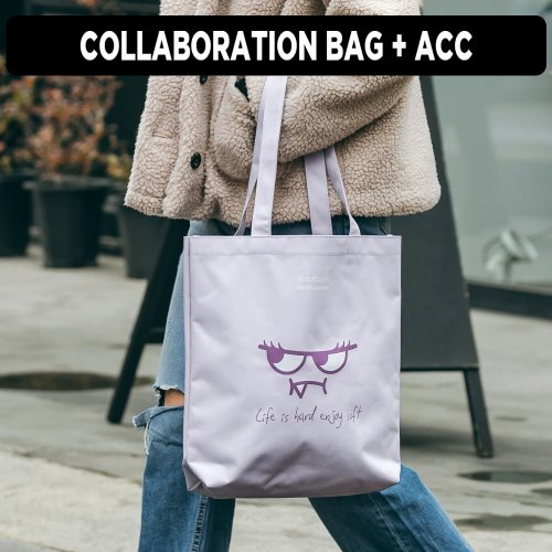 [ ★GOOD BUY 2019 ] ORANGEMON ECO BAG (LAVENDER)