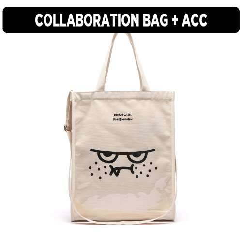 [ ★GOOD BUY 2019 ] ORANGEMON PVC BAG (IVORY)
