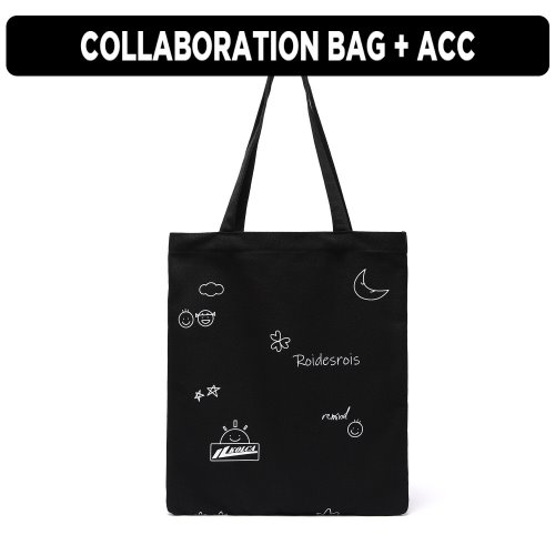 [ ★GOOD BUY 2019 ] [로아드로아x콜카] GRAVITY ECOBAG (BLACK)