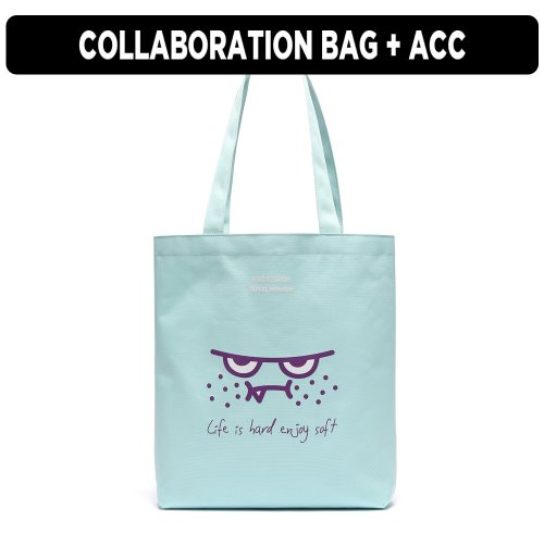 [ ★GOOD BUY 2019 ] ORANGEMON ECO BAG (SWEET BLUE)