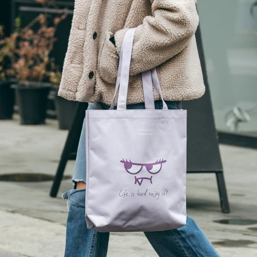 ORANGEMON ECO BAG (LAVENDER)