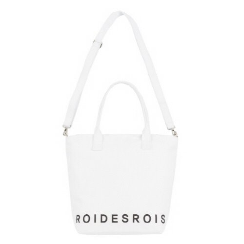 [#아울렛 한정_특가상품]GOTHIC TYPE SHOULDER CROSS BAG (WHITE)