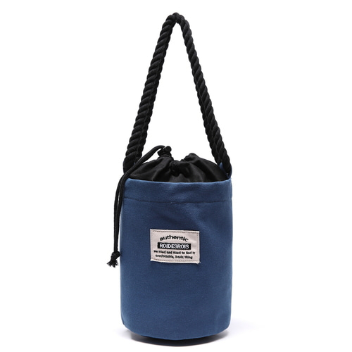 [#아울렛 한정_특가상품]ROPE COTTON SHOULDER BAG (BLUE)