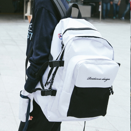 [창고개방]OH OOPS BACKPACK (WHITE)
