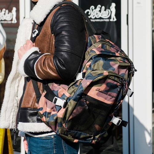 [창고개방]OH OOPS BACKPACK (CAMO)