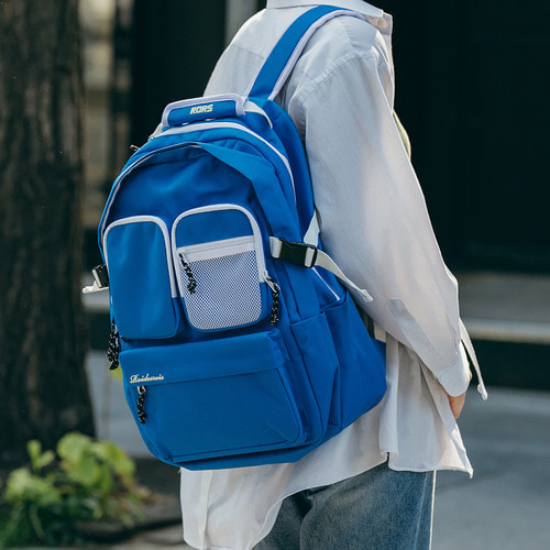 [창고개방]HUSH BACKPACK (BLUE)