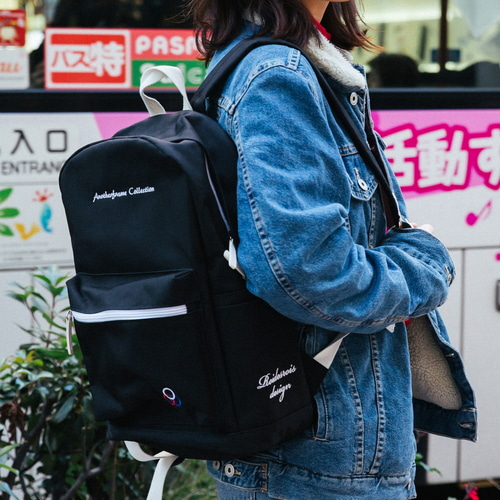 [창고개방]YUM YUM BACKPACK (BLACK)