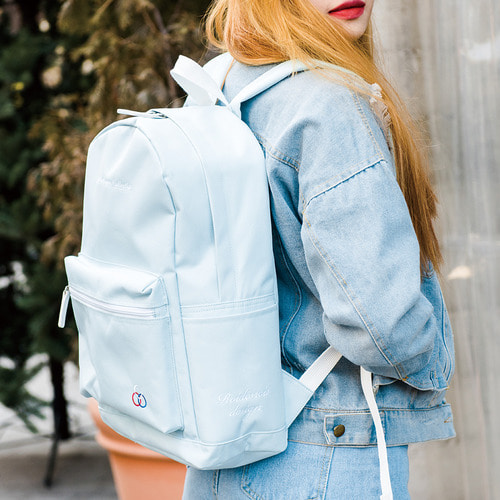 [창고개방]YUM YUM BACKPACK (SKYBLUE)