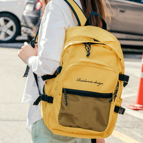 [창고개방]OH OOPS BACKPACK (YELLOW)